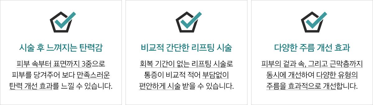 유니크슈링크리프팅의특별함